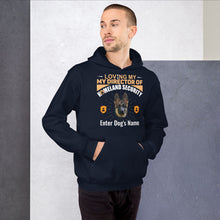 Load image into Gallery viewer, Loving My German Shepherd Director Of Homeland Security Hoodie - Personalized