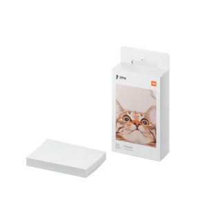 Mi Portable Photo Printer paper (2x3-inch, 20-sheets) - MiStore.pk