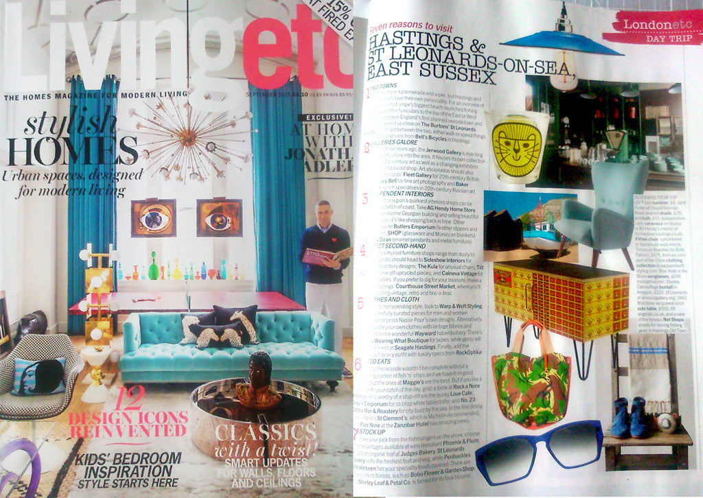 LIVING ETC MAGAZNE SEPT ISSUE PRESS
