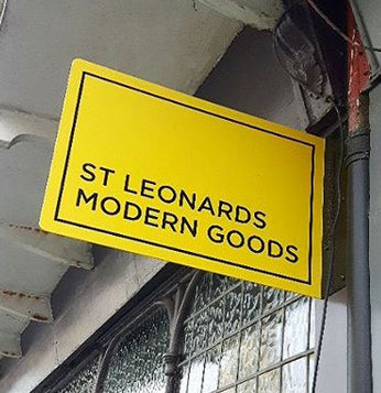 shop sign st leonards modern goods