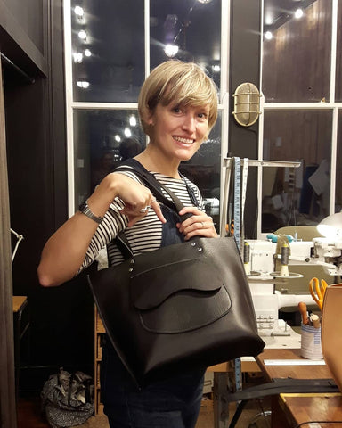 1 DAY WORKSHOP - MAKE A LEATHER SHOULDER BAG