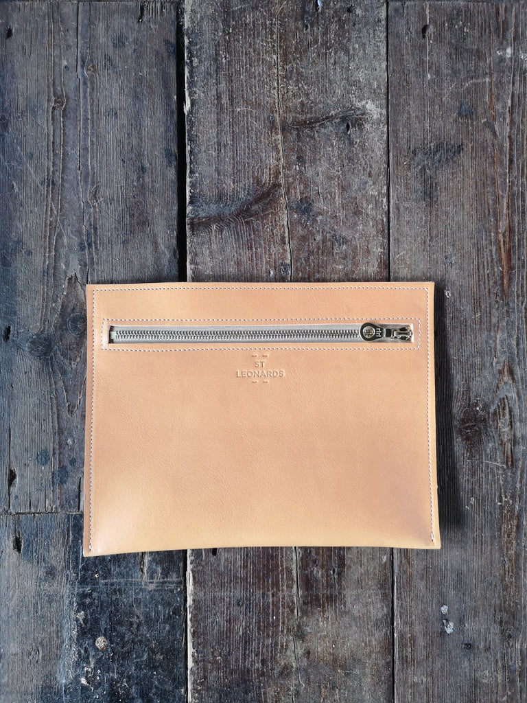 Folio Pocket in Nude colourway