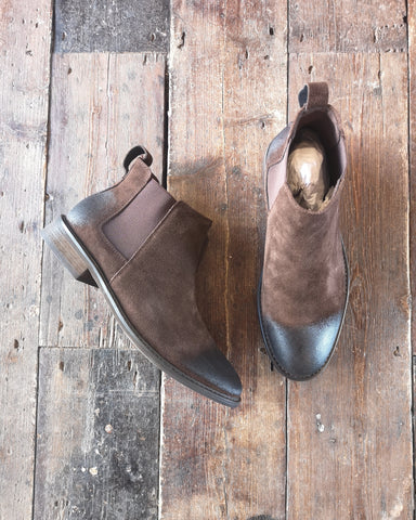 MENS SUEDE LEATHER CHELSEA BOOT