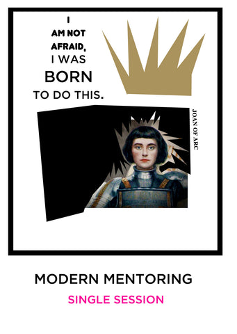 MODERN MENTORING - SINGLE SESSIONS