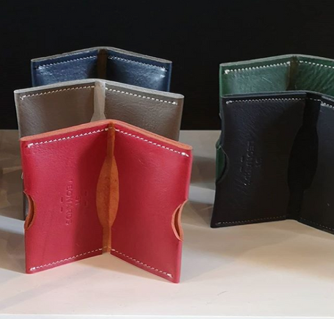 ST LEONARDS SADDLERY LEATHER CARDHOLDER WALLET