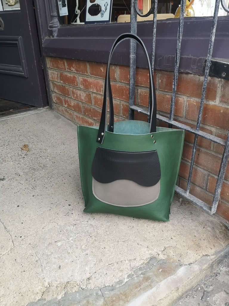 The Southwater Tote in Green