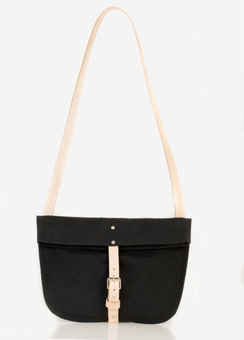 TOTELY BUCKLE SATCHEL in Cinder