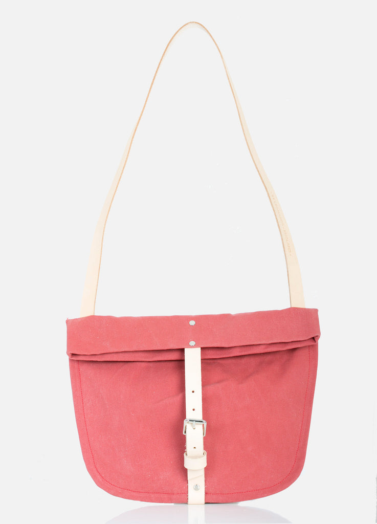 TOTELY BUCKLE SATCHEL in Brick