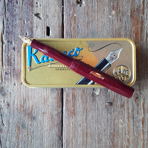 Kaweco fountain pen in Bordeaux