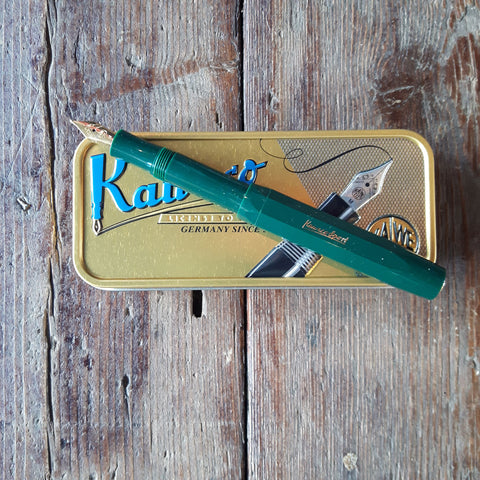 Kaweco fountain pen in Bottle Green