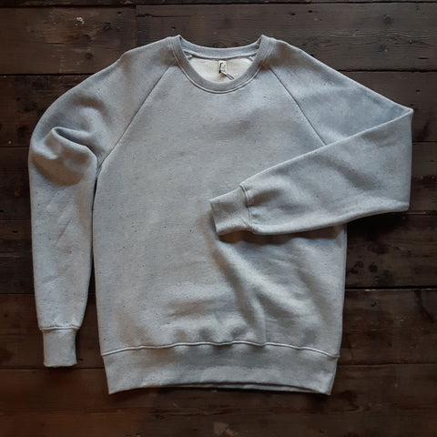 ORGANIC COTTON SPECKLE SWEATSHIRT
