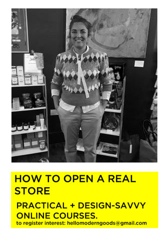 HOW TO OPEN A REAL STORE online course
