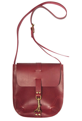 BURTON BAG in Oxblood