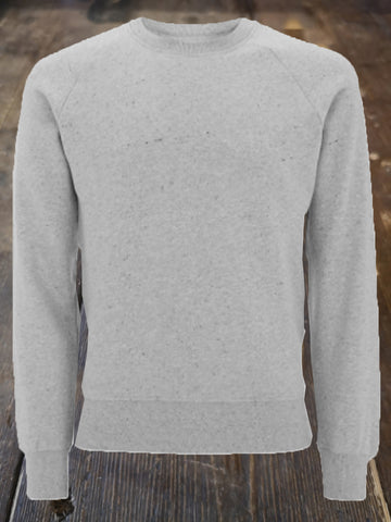 MODERN GOODS RECYCLED ORGANIC COTTON RAGLAN SWEATSHIRT