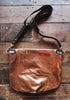 #54 Slouchy Metallic Tote in Bronze