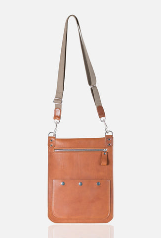 QUARRY BAG in Chestnut and Assorted colours