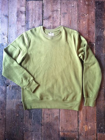 SAP GREEN ORGANIC COTTON SWEATSHIRT