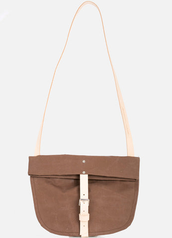 TOTELY BUCKLE SATCHEL in Brown