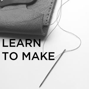 LEARN TO MAKE LEATHER WORKSHOPS