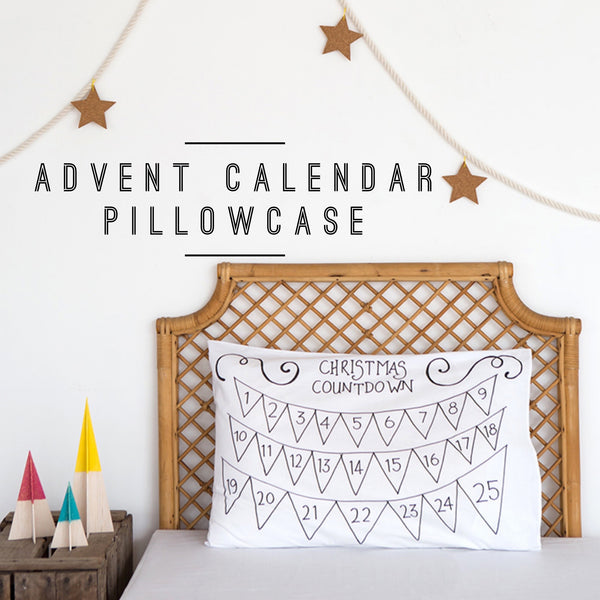 Advent Calendar pillowcase Christmas