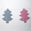 Christmas Tree Felt Garlands