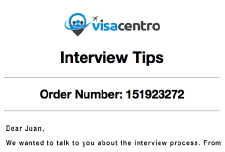 US Visa Interview