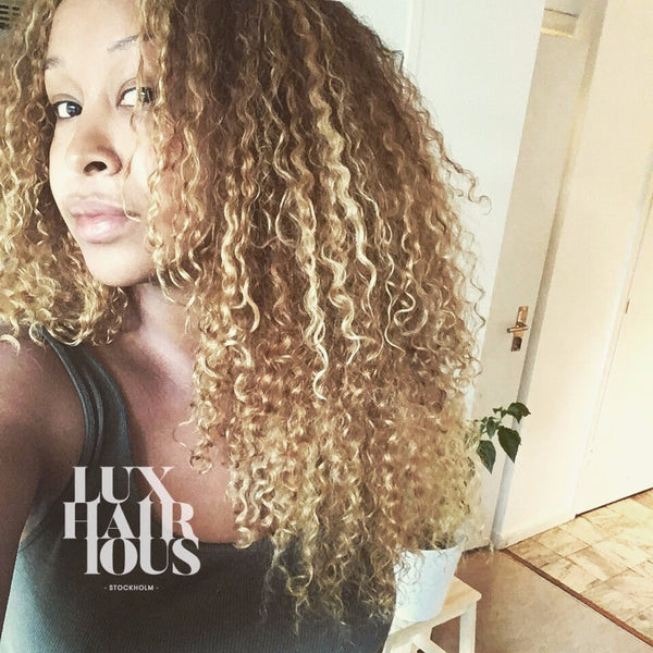 NATURAL CURLY CLIPS (3B/3C) - LUXHAIRIOUS