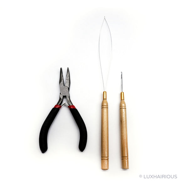 HAIR PLIER KIT (MICRO WEAVE) - LUXHAIRIOUS