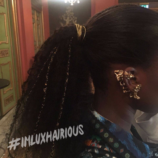 NATURAL CURL (A) - LUXHAIRIOUS