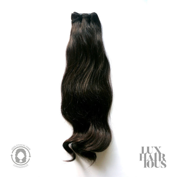 NATURAL SLIGHT WAVE (THICK) - LUXHAIRIOUS