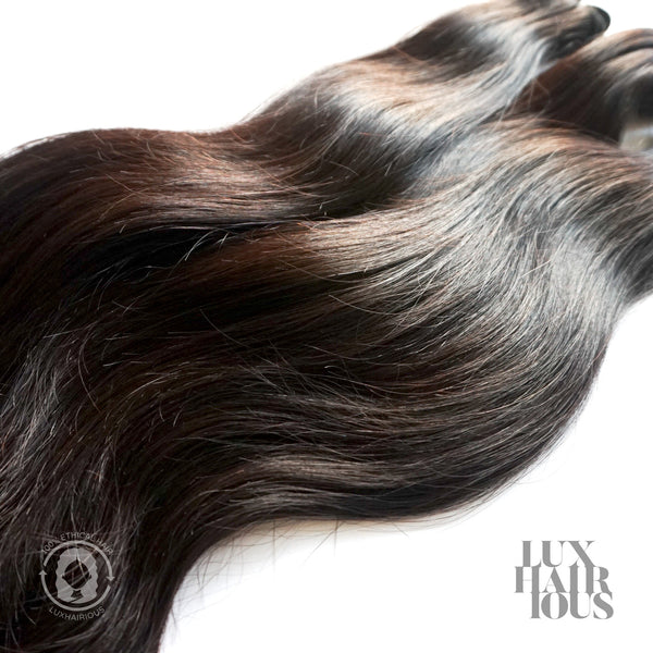 VIRGIN STRAIGHT (DOUBLE DRAWN) - LUXHAIRIOUS