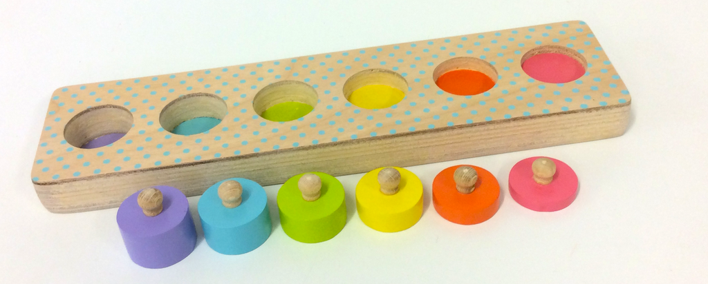Coloured Cylinder Puzzle