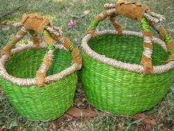 Round Mini Baskets (Set of 2)