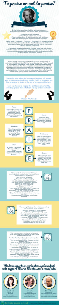 Guide to Montessori P.R.A.I.S.E
