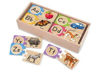 Alphabet Initial Sounds Puzzle