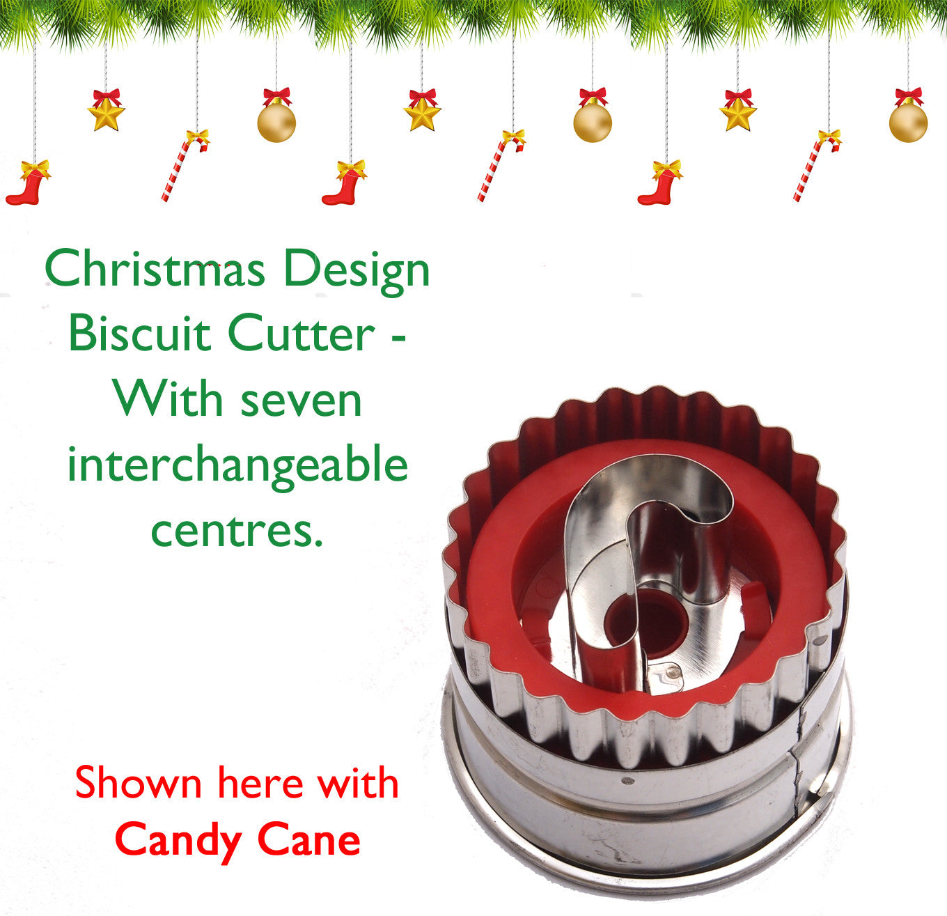 Christmas Biscuit Cutter Set