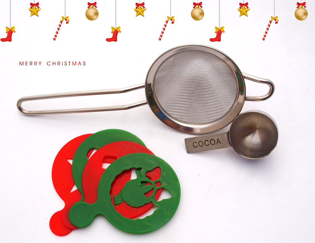 Christmas Cooking Stencil Set