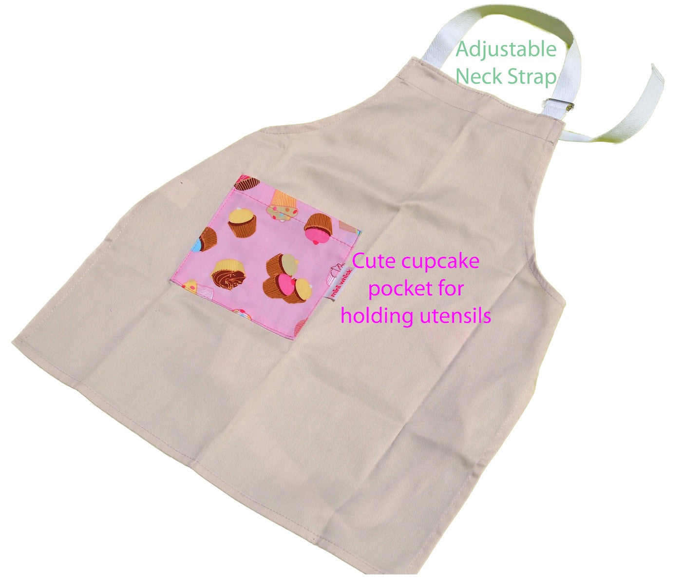 Kitchen Fun Apron - Cupcakes