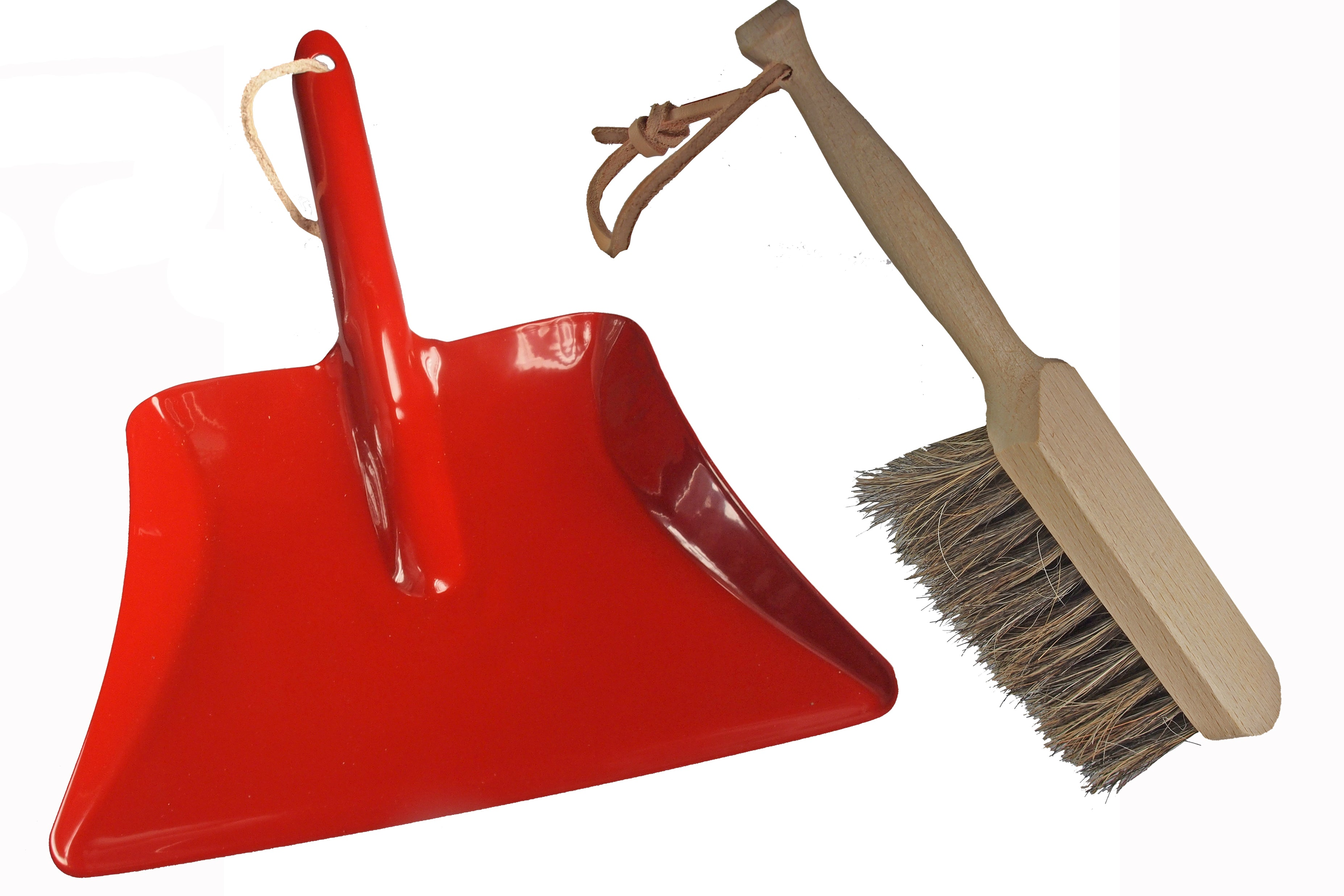 Indoor Dustpan and Brush
