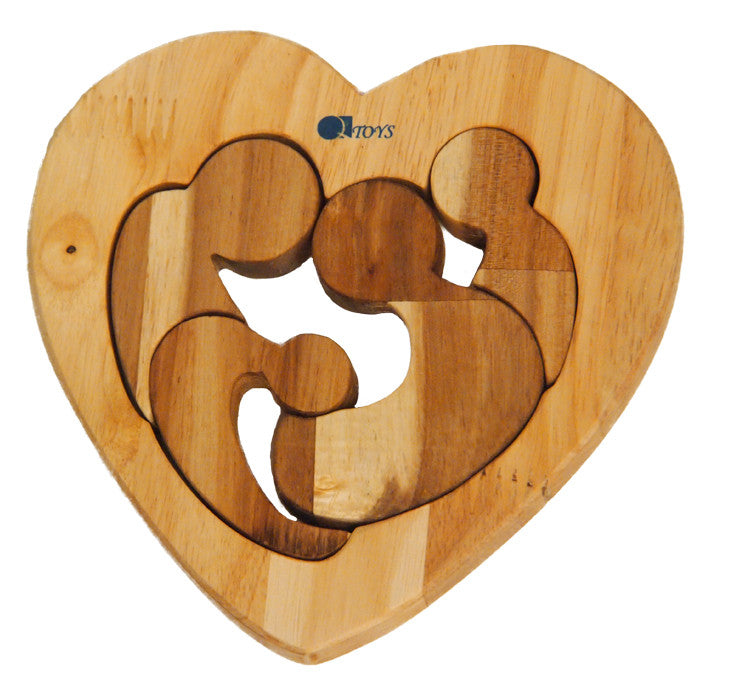 Family Heart Puzzle