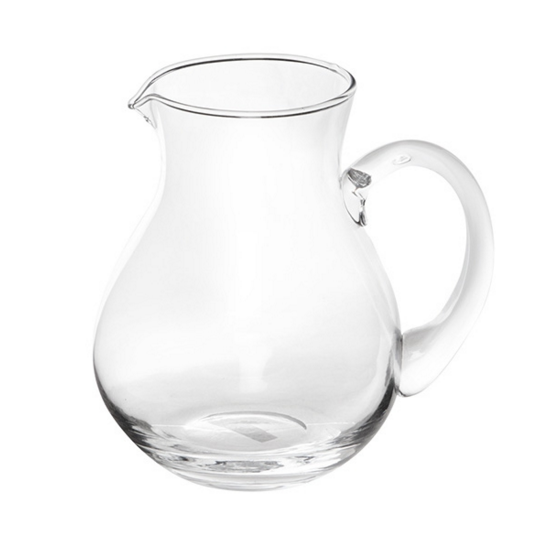 Large Glass Pitcher