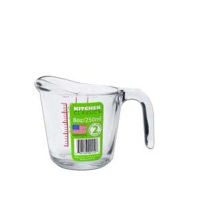 Small Glass Measuring Jug (250ml)