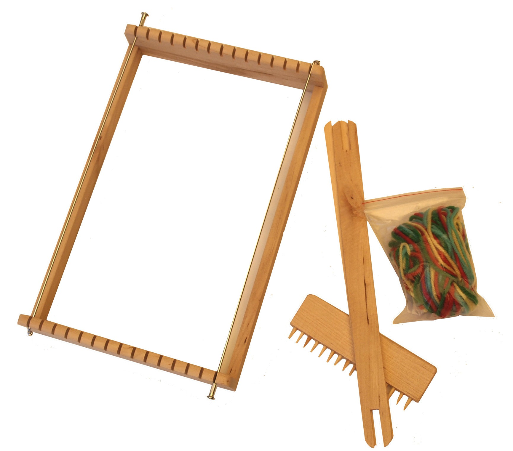 Wooden Loom Set