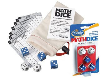 Math Dice Game