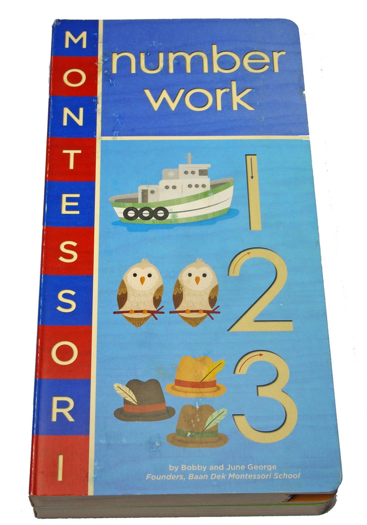 Montessori Number Work Book