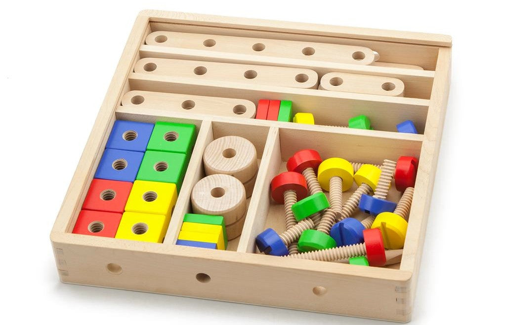 Nuts & Bolts Wooden Construction Set