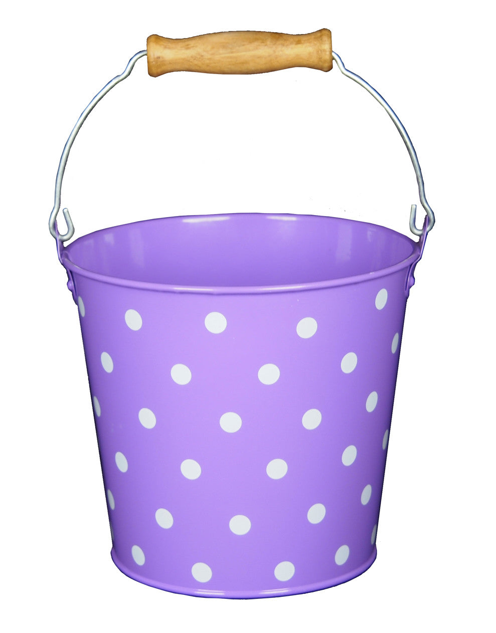 Child's Metal Bucket (Spotty)