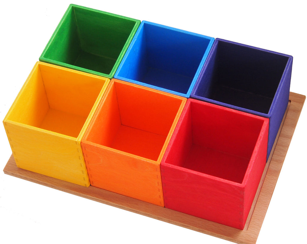 Rainbow Sorting Boxes