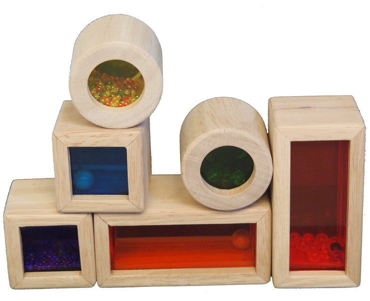 Rainbow Sensory Blocks