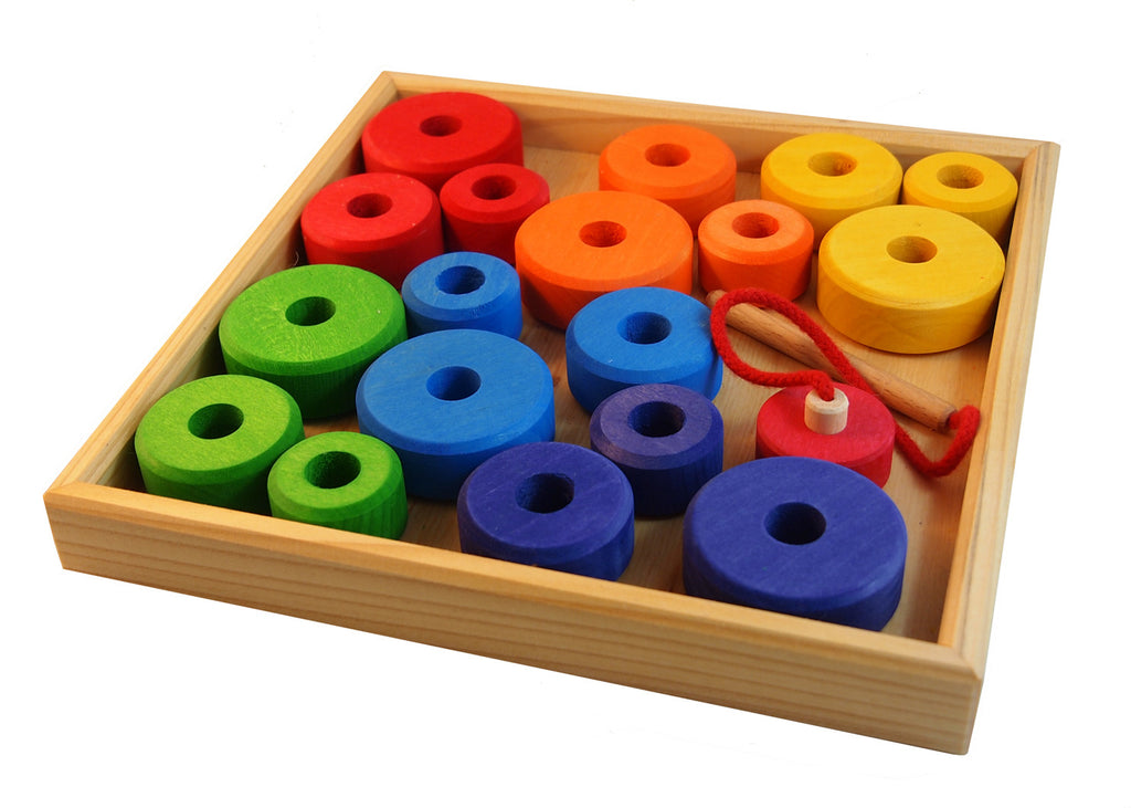 Rainbow Threading Tray